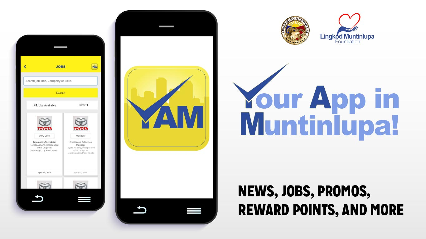 YAM, MCC Plus, and Jobs in Muntinlupa: What's New in Muntinlupa?
