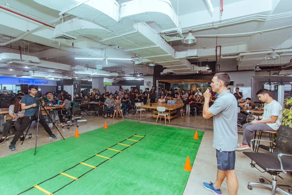 A Competitive Edge: Live Longer Bootcamp