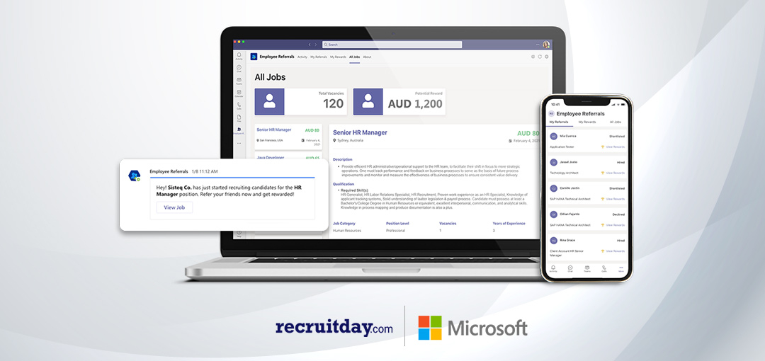 Recruitday Uses Microsoft Tools to Revamp Referrals Forever